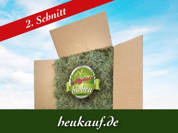 Allgäuer BIO-HEU zweiter Schnitt 5kg im Karton