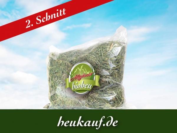 Allgäuer BIO-HEU zweiter Schnitt 750g im Beutel