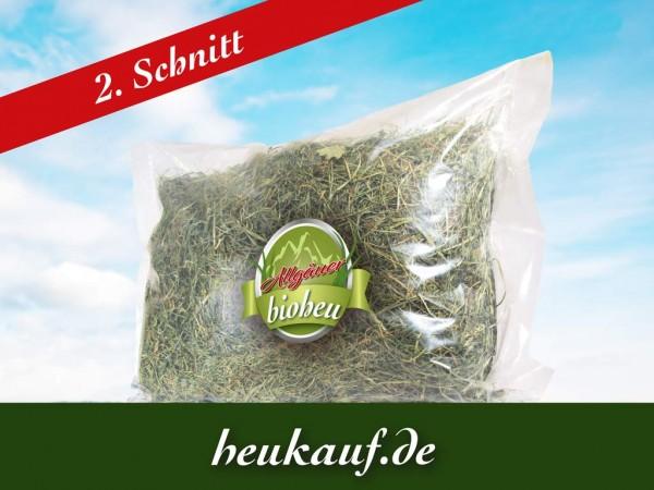 Allgäuer BIO-HEU zweiter Schnitt 1250g im Beutel